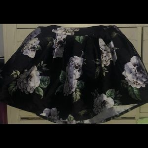 flared out skirt